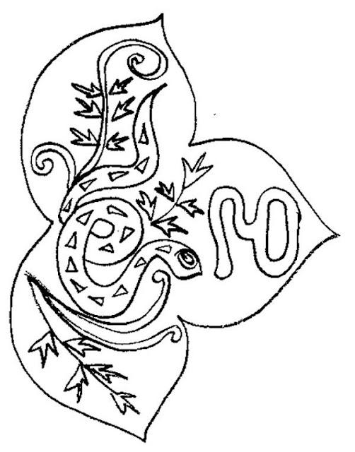 Mandalas del horoscopo chino - Coloriage de chine ...