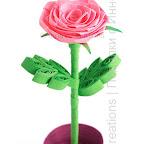 Folded rose