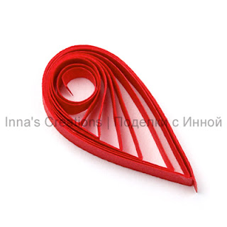 Quilling shape The Teardrop