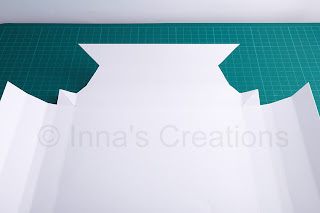 Paper frame cutout