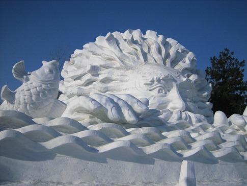 esculturas neve lindas gelo inverno arte (1)