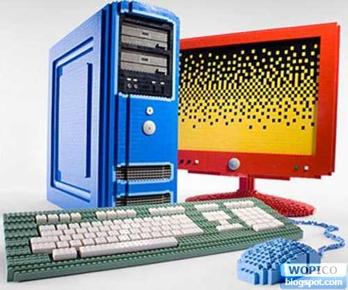 Pc by Lego