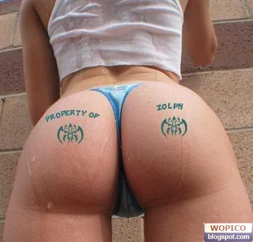 Unique Ass Tattoo