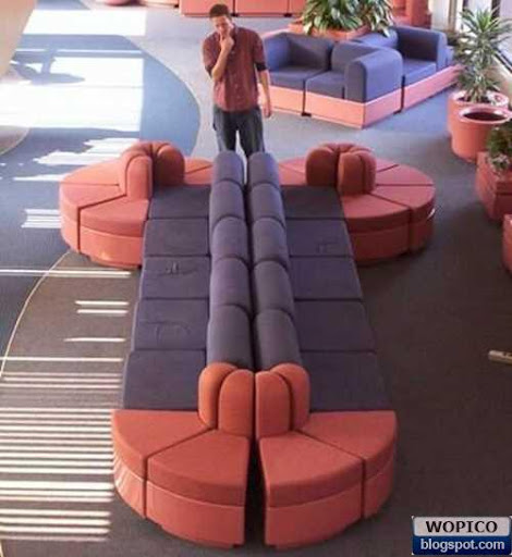 Unique Sofa Shape
