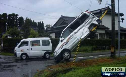 Odd Car Crash