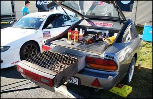 Car BBQ