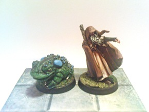 Sharky and Ral Partha Giant Toad