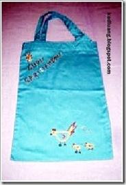 กระเป๋าผ้า ถุงผ้า งานปักมือ