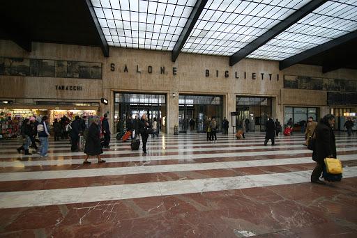 Train terminal at Florence