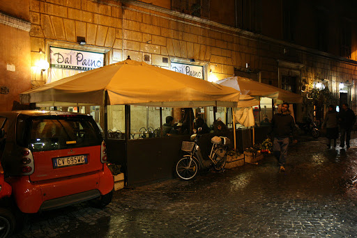 Our regular dinner place in Rome
