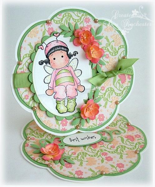 magnolia-blossom-easel-card