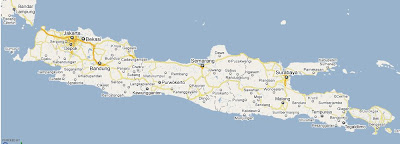 Free GPS Map For Garmin – Jawa Bali Map