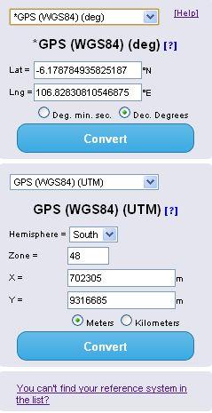 coordinate converter