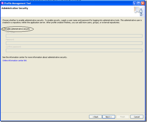 WebSphere-App-Server-Advance-Profile-Rad4