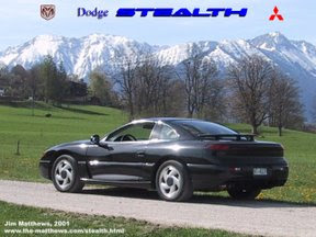 Jim's Stealth in the Bavarian Alps, 2001