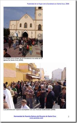Festividad de la Candalaria 2008-2