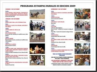 PROG. E. RURALES 2009-2