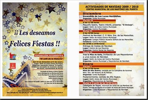 Programa Navidad Los Martinez del Puerto 2009_2010
