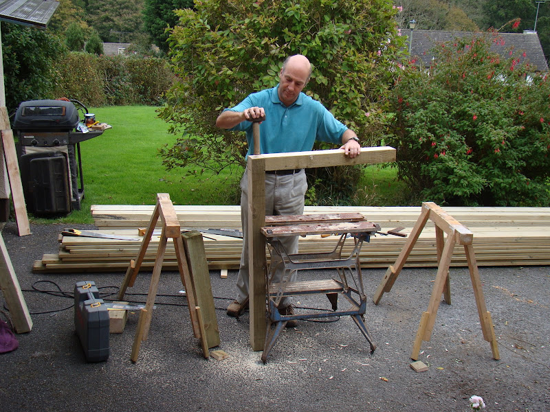 Decking project - WIP, lots of pics! | Woodwork UK Forum