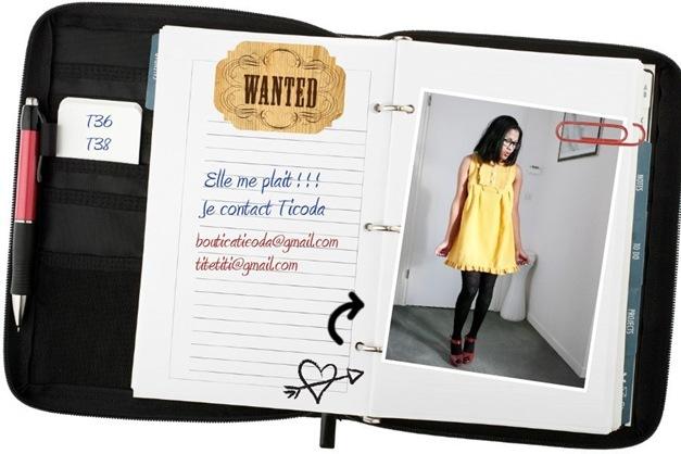 wanted_YELLOW DRESS
