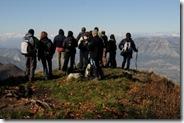 Escursione in vetta - 1582 m.