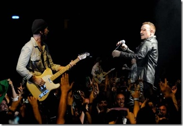 U2 2009 - The Edge und Bono