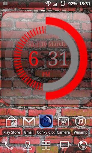 Conky Clock - Clock Widget