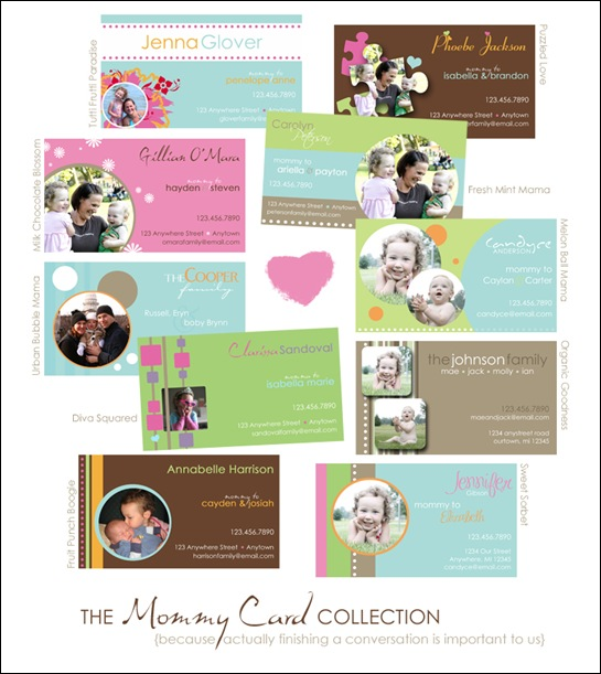 Mommy-Card-Collection