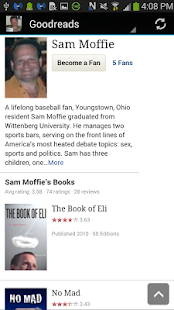 Author Sam Moffie - screenshot