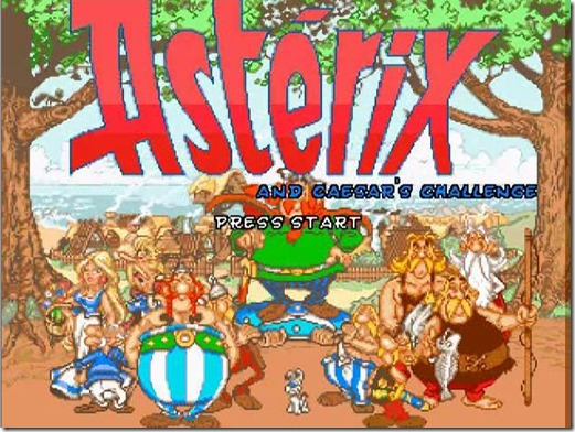 Asterix and Caesar's Challenge (1)
