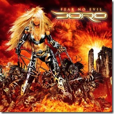 DORO - Fear No Evil artwork