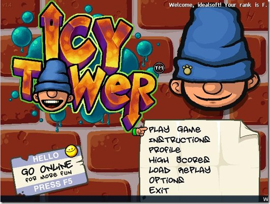Icy Tower freeware