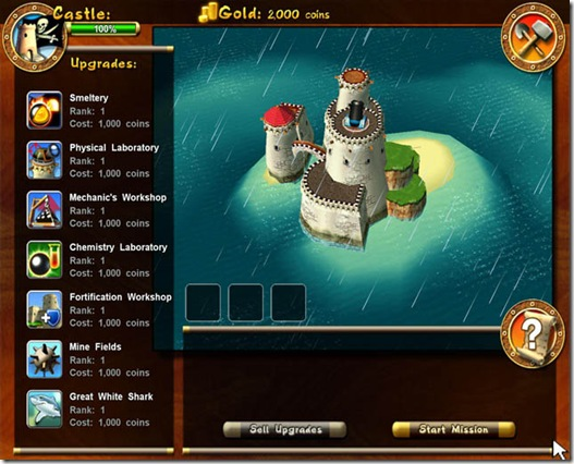 Pirates Battle for the Caribbean freeware