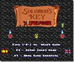 Solomon's remake title