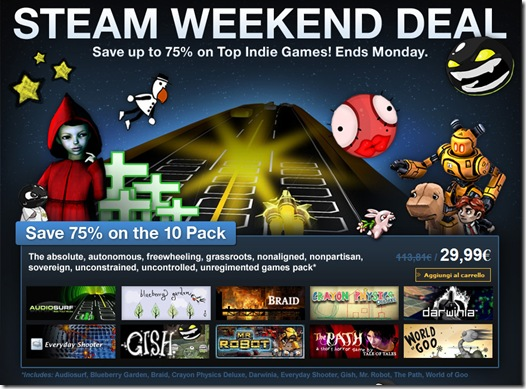 steam weekend deal