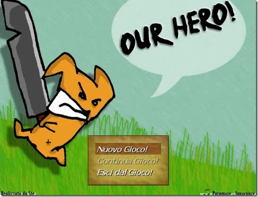 Our Hero gioco freeware_img