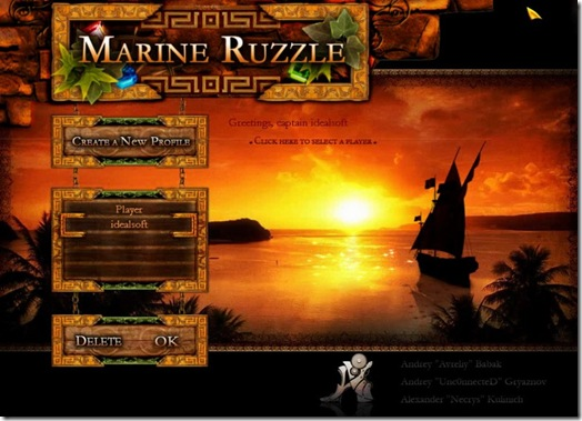 Marine Puzzle freeware game