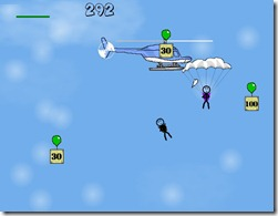 Skydiver demake