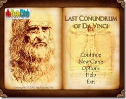 Last Conundrum Of Da Vinci (free full game) pic  (2)