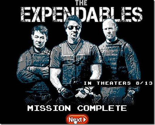 The Expendables 8 bit free web game img (6)