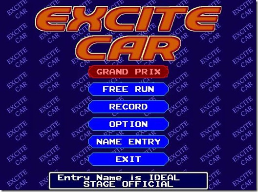 Excite Car freeware game image  (7)