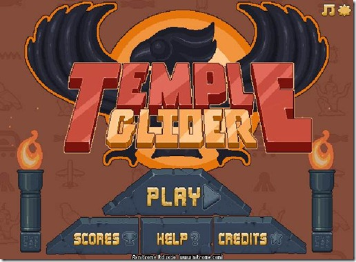 Temple Glider Nitrome free web game (4)