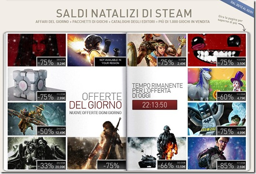 saldi natalizi di Steam 2