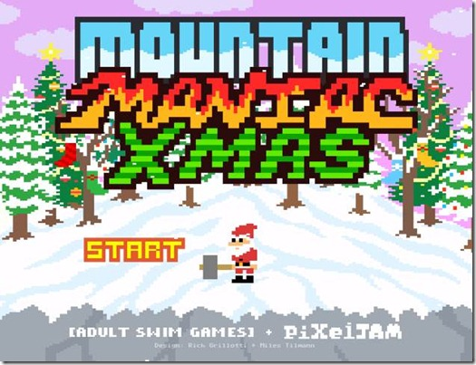 Mountain Maniac Xmas free web game (1)