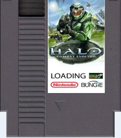 Pixel Force Halo 8 bit demake freeware game (10)