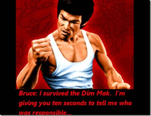 Revenge Of The Dragon Bruce Lee fan game demo (3)