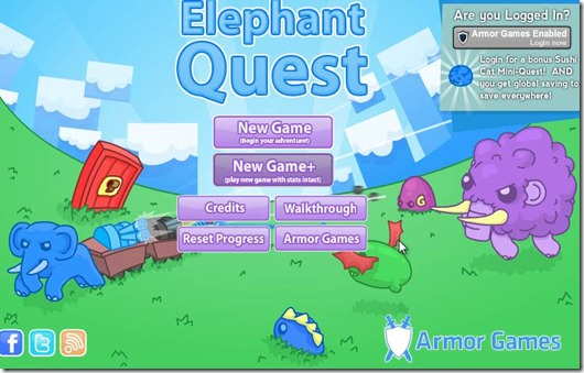 Elephant Quest free web game (4)