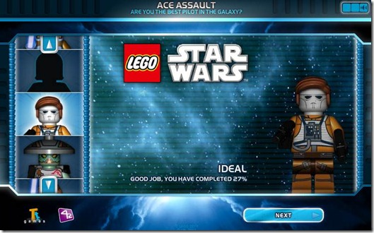 Lego Star Wars ACE ASSAULT free web game screen (7)