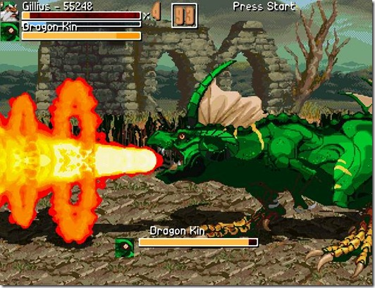 Golden Axe the curse of death adder fan game (5)