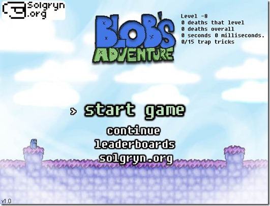 Blob Adventure flash game (7)